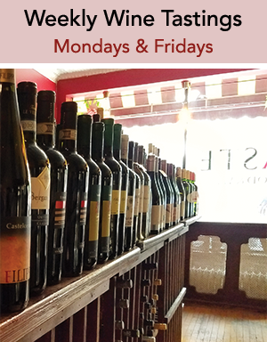 Weekly Wine Tastings